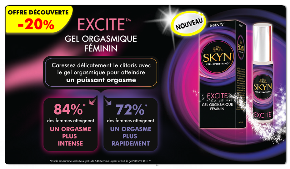Promo -20% Skyn Excite