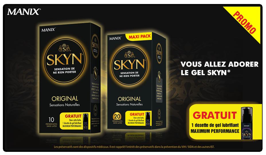 Promo Skyn Original + sachet gel gratuit